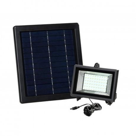 Lámparas solares de Recarga Solar 60 Leds Con Panel Solar