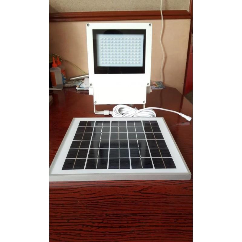 L mpara luminaria solares 108 leds con panel solar exteriores y jard n for Lamparas solares para exterior