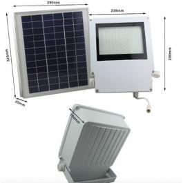 Lámparas luminaria solares de Recarga Solar 108 Leds Con Panel Solar Exteriores y Jardín