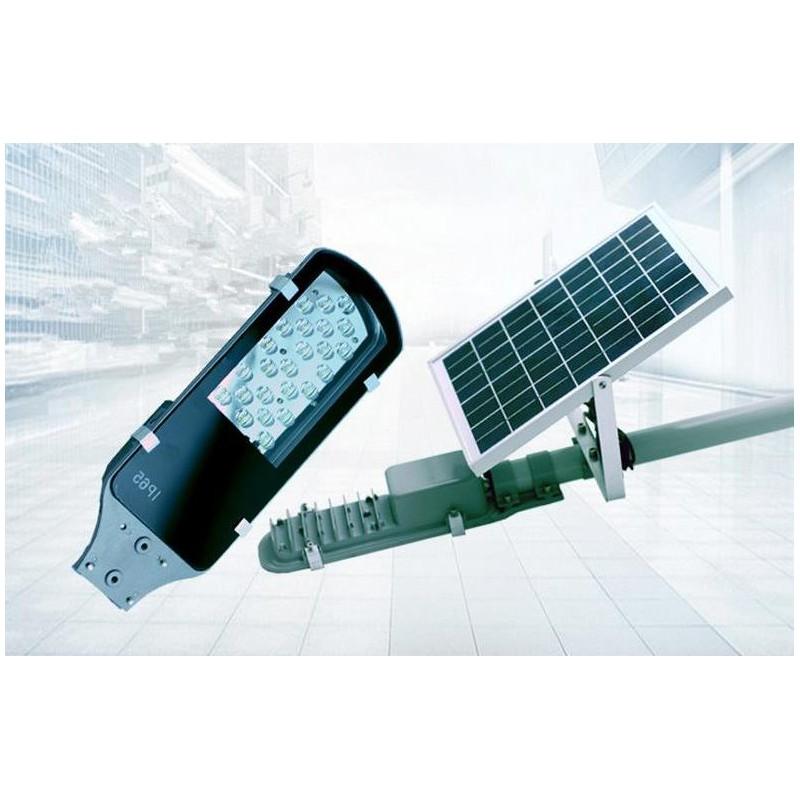 l mparas luminarias solares led 12w con panel solar