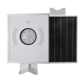 Lámparas Luminarias Solares Led Todo en Uno Bridgelux 12W Alumbrado de Exterior y Jardin de 12 watts 1280 Lúmenes