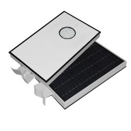 Lámparas Luminarias Solares Led Todo en Uno Bridgelux 15W Alumbrado de Exterior y Jardin de 15 watts 1580 Lúmenes