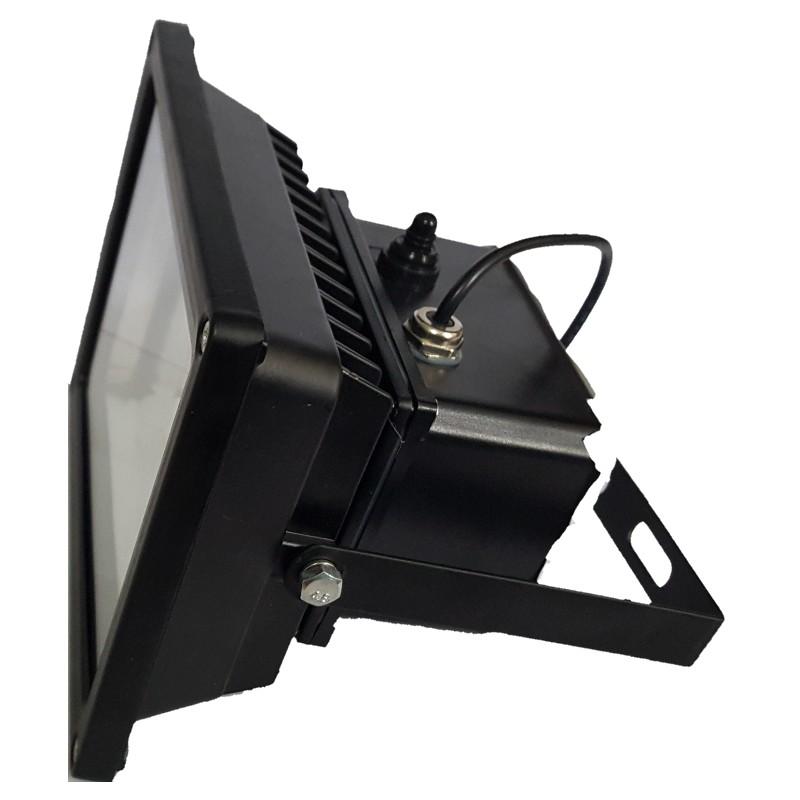 Luminaria led solares 15w con panel solar exteriores y for Luminarias para jardines exteriores