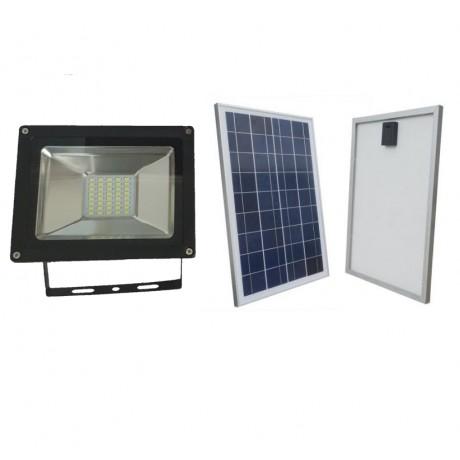 Luminaria Led Solares 15W Con Panel Solar Exteriores y Jardín Recargables 40 leds