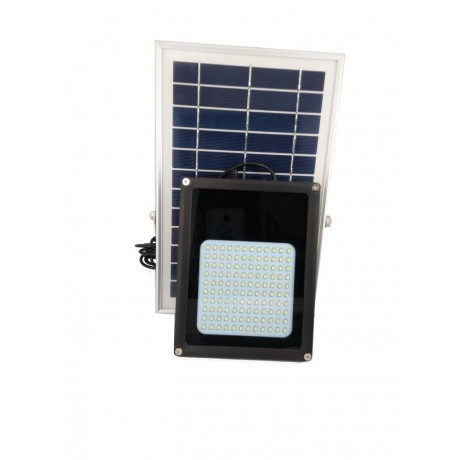 Luminaria Led Solar SIN Sensor de Movimiento 120 Leds y Panel Solar 6 Watts