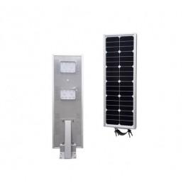 Luminarias Led Solares 20W Serie AIO Panel Solar Integrado Alumbrado Público All In One
