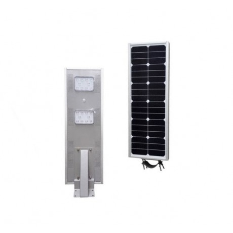Luminarias Led Solares 20W Serie AIO Panel Solar Integrado Alumbrado Público All In One