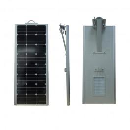 Luminarias Led Solares 70W Serie AIO Panel Solar Integrado Alumbrado Público All In One