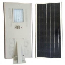 Luminarias Led Solares 50W Serie AIO Panel Solar Integrado Alumbrado Público All In One