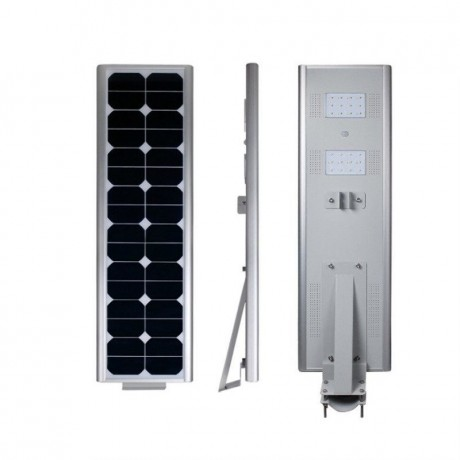 Luminarias Led Solares 25W Serie AIO Panel Solar Integrado Alumbrado Público All In One