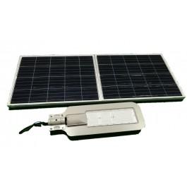 Luminaria Led Solar 60W De Potencia para Exterior y Jardin con Panel Solar de Alta Potencia