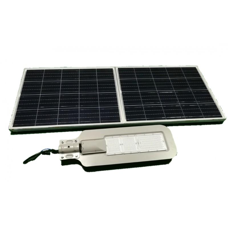 Luminaria led solar 60w de potencia para exterior y jardin - Luces exterior solares ...