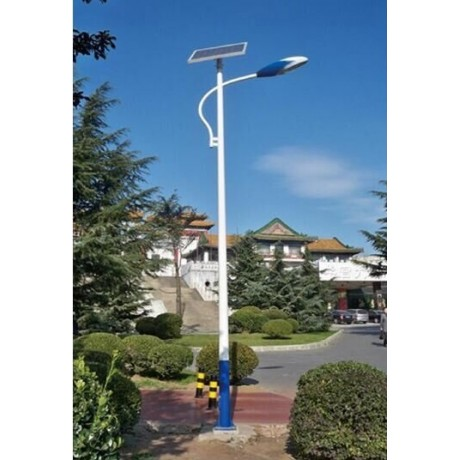Luminaria led solar 40w de potencia low cost para exterior for Lamparas led para exteriores