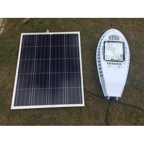 Luminaria Led Solar 30w De Potencia Low Cost Para Exterior Y Jardin - Luminarias-para-jardin