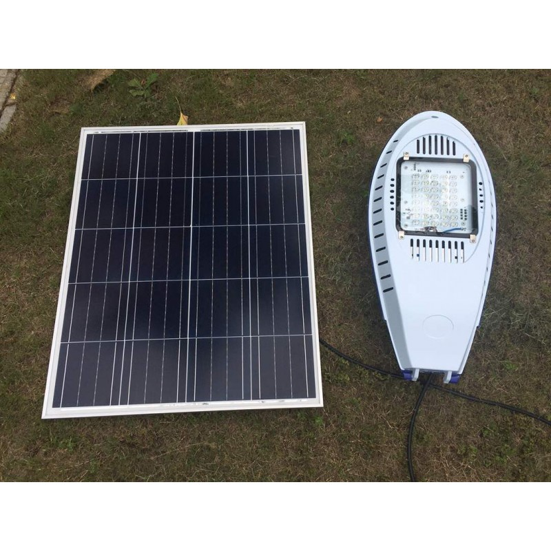 Luminaria led solar 30w de potencia low cost para exterior for Solar jardin