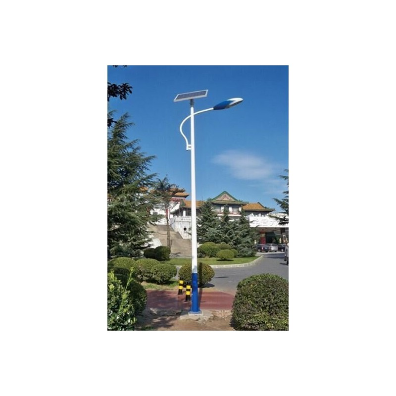Luminaria led solar 30w de potencia low cost para exterior for Luminarias de jardin exterior