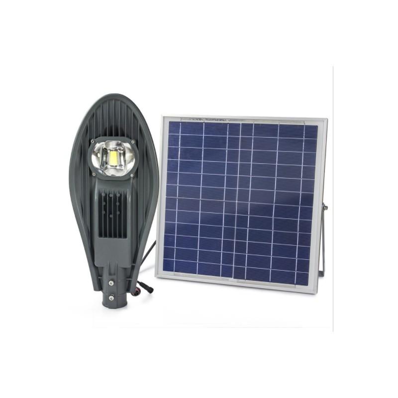 Luminaria led solar 60w de potencia con lupa para exterior - Leds exterior para jardin ...