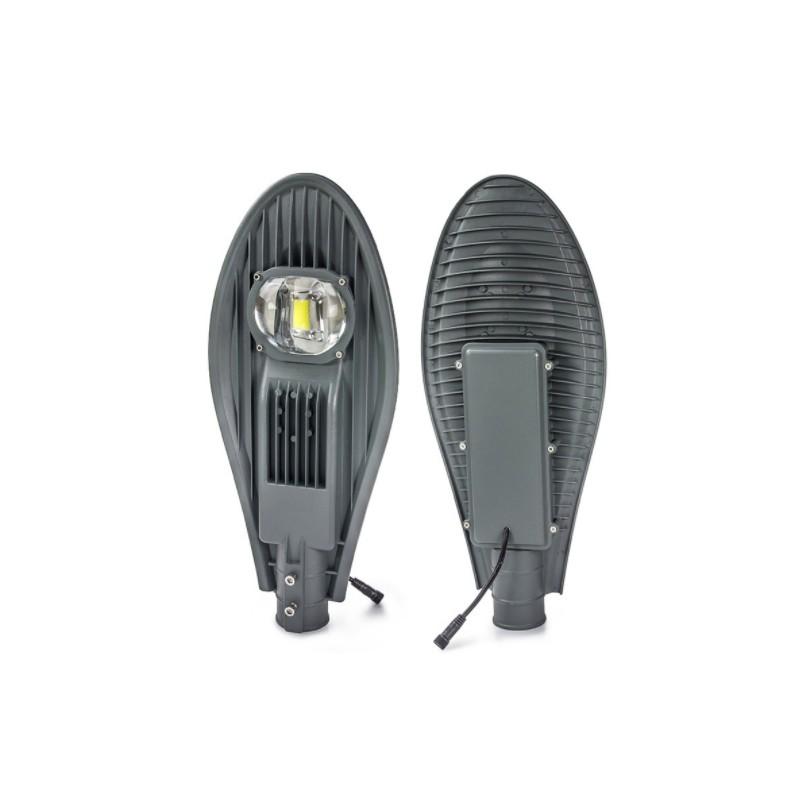 Luminaria led solar 60w de potencia con lupa para exterior for Luminarias de exterior led