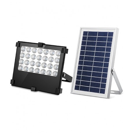 Luminaria Led Solares 6W Con Panel Solar Exteriores y Jardín Recargables 28 leds